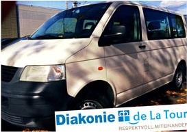 Diakonie sponsert einen ausgemusterten VW-Bus
